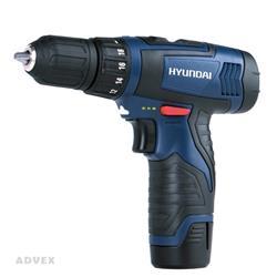 دریل پیچ گوشتی شارژی 12 ولت مدل HP212-L هیوندای