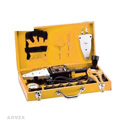 جعبه ابزار فلزی اتو برقی لوله سفید برند امیدوار