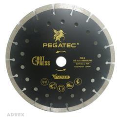 صفحه گرانیت بر پرس داغ 230 میلیمتری پگاتک   PEGATEC