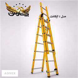 نردبان کشویی الگانت آلوم پارس پله